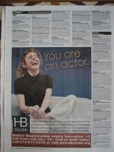 Imatge promocional HB Studio_ Backstage_Maria Fontanals